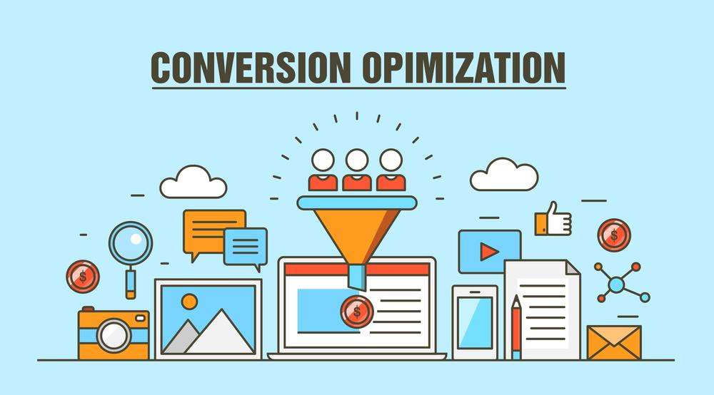 Conversion Optimization Concept